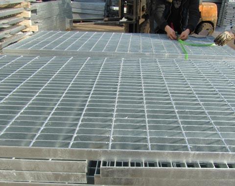 冷镀锌钢格栅板图片2